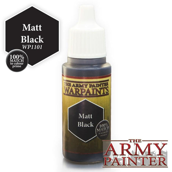 Army Painter Warpaints Matt Black