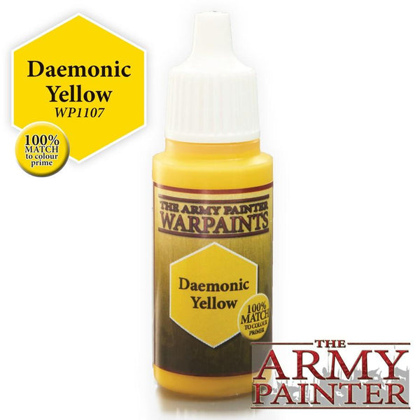 Army Painter Warpaints Daemonic Yellow