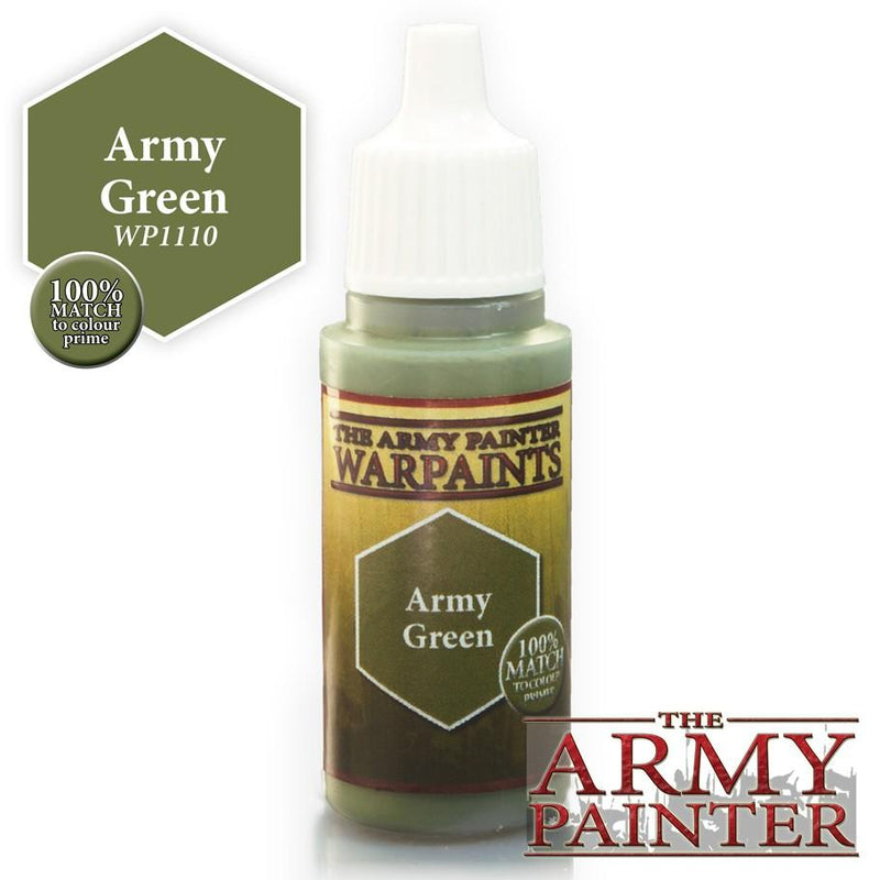 Army Painter Warpaints Army Green
