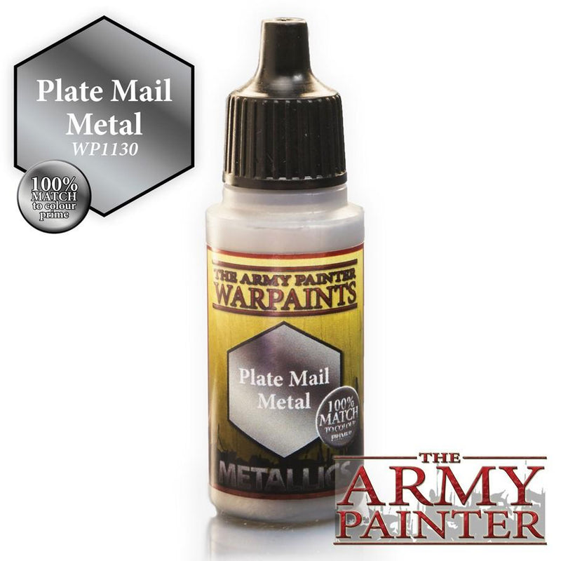 Army Painter Warpaints Plate Mail Metal