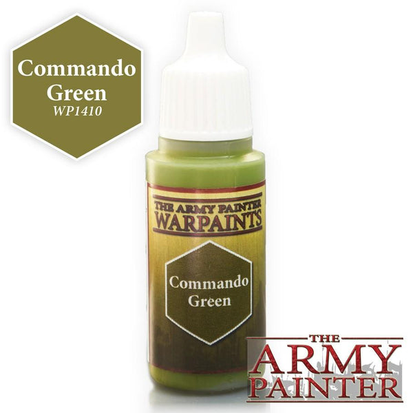 Army Painter Warpaints Commando Green