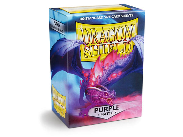 Dragon Shield Card Sleeves Matte Purple