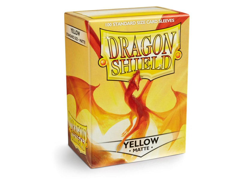 Dragon Shield Card Sleeves Matte Yellow