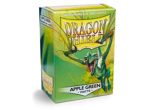 Dragon Shield Card Sleeves Matte Apple Green