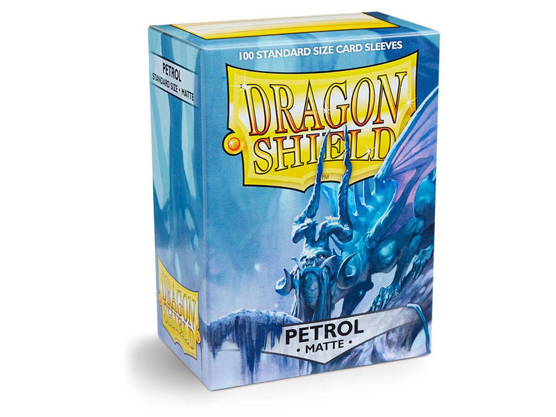 Dragon Shield Card Sleeves Matte Petrol