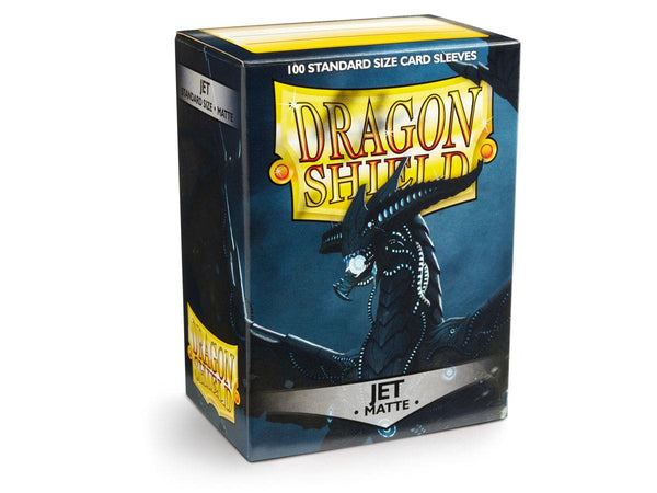 Dragon Shield Card Sleeves Matte Jet