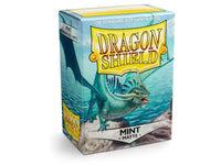Dragon Shield Card Sleeves Matte Mint