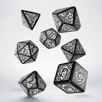 Celtic Dice Black And White