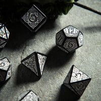 Celtic Dice Black And White 3