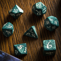 Elven Dice (Classic Stormy) | RPG Role Playing Game Dice Set