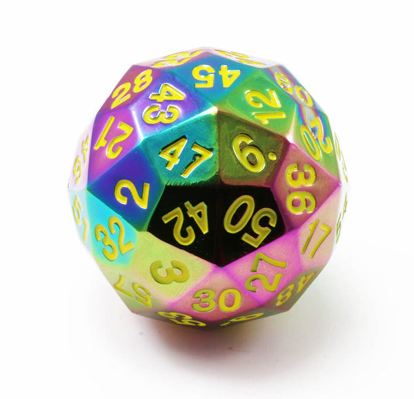 Rainbow d60 dnd dice