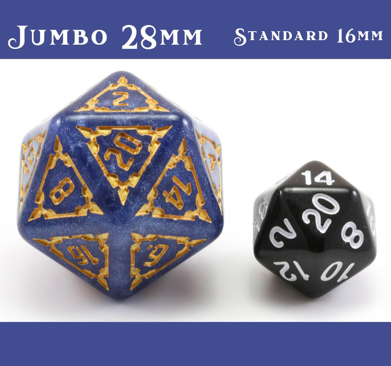 Giant d20 Size Comparison