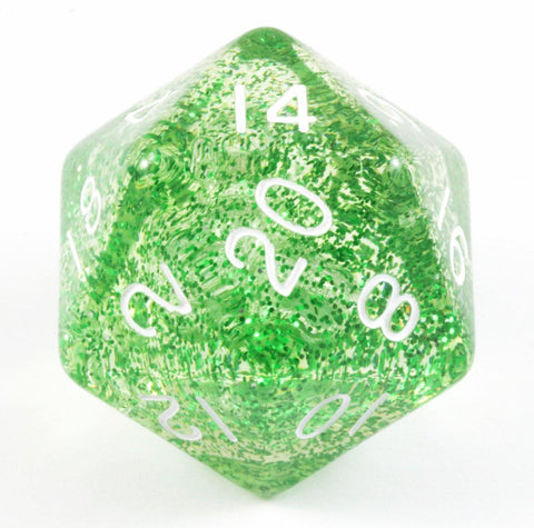 Giant d20 D&D Light Green