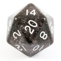 Giant d20 D&D Black