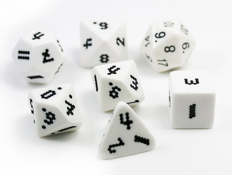 The Dice Lab OptiDice White