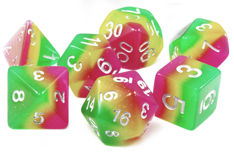 Rainbow D&D Dice