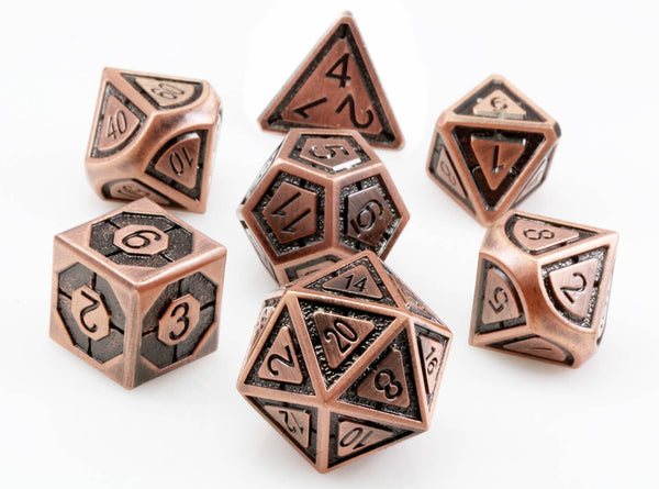 Assassin Dice RPG Antique Copper