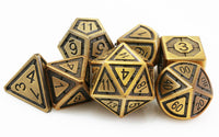 Antique brass assassin dice 2