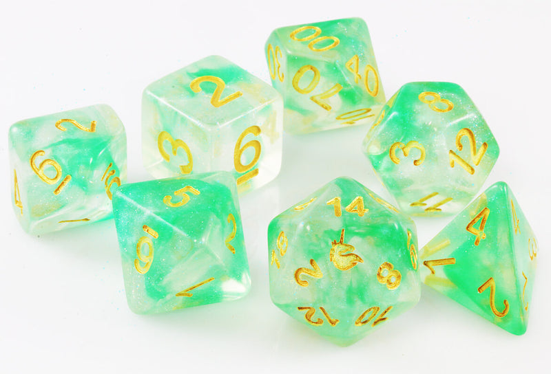 Unicorn Dice Icy Everglades
