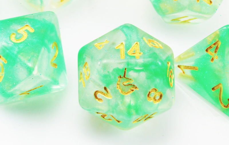 D&D Dice Icy Everglades