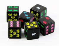 8-Bit Dice Space Invaders