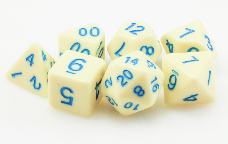 Pastel D&D Dice Yellow