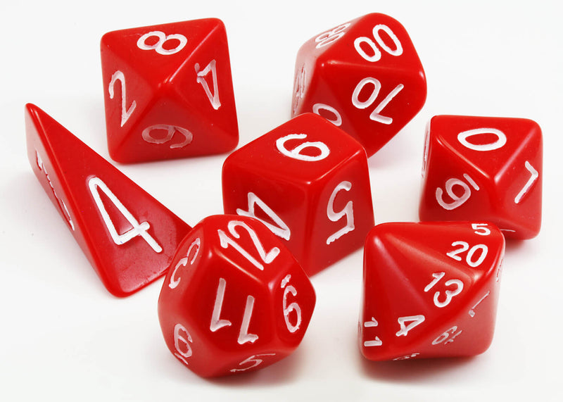 Skew Dice Red