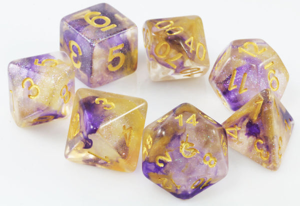 Unicorn Dice Royal Sunset
