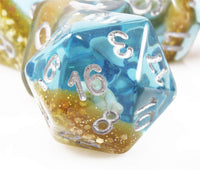 Neptune's Dream Dice | RPG Role Playing Game Dice Set