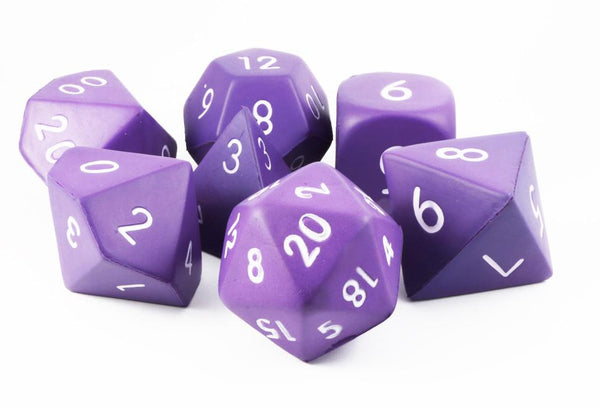 Giant Foam RPG Dice Purple