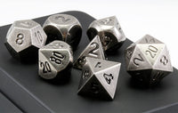 Aluminum Dice Antique Nickel 2