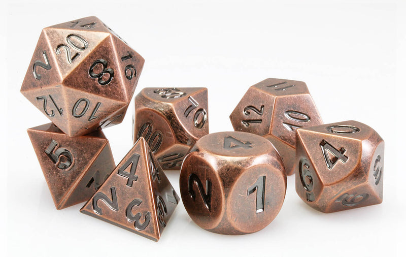 Aluminium Dice Antique Copper