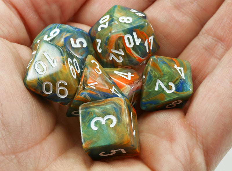 Autumn D&D Dice