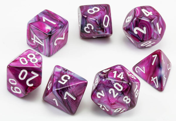 Chessex Lab Dice II Lustrous Amethyst