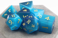 Beautiful DnD Dice Blue