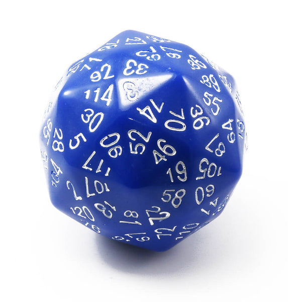 The Dice Lab d120 Blue