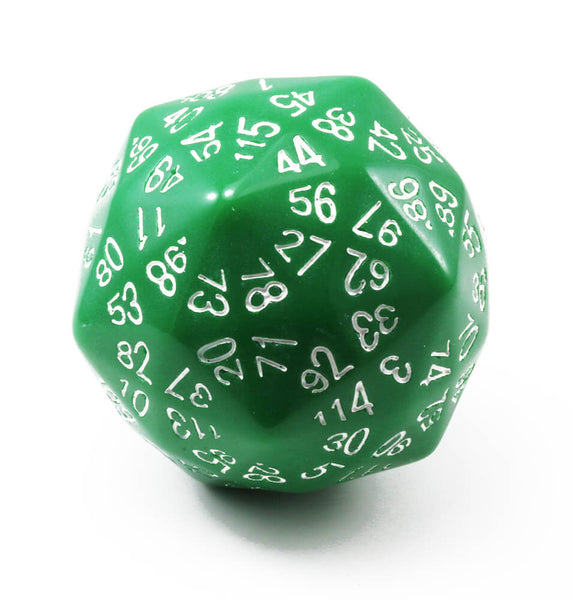 The Dice Lab d120 Green