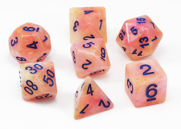 dnd dice shadowstone orange