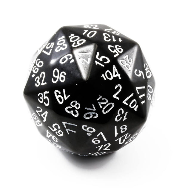 The Dice Lab d120 Black