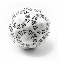 The Dice Lab d120 White