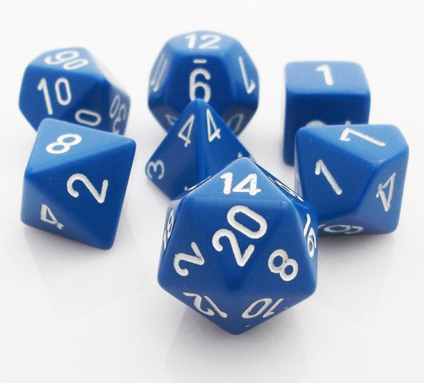 Opaque Dice Blue