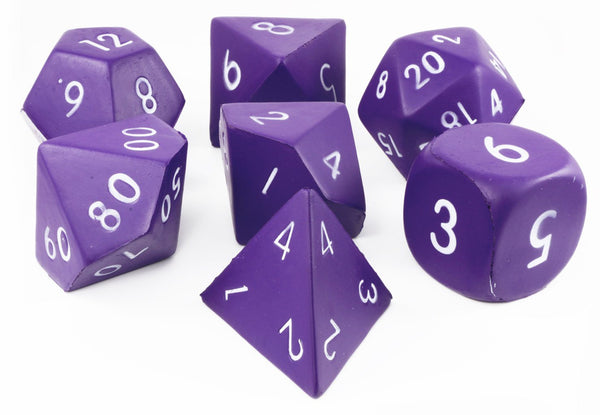 Dark Purple Giant Foam Dice