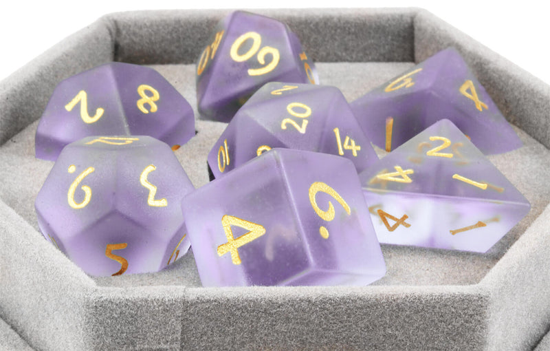 Frosted Purple Dice