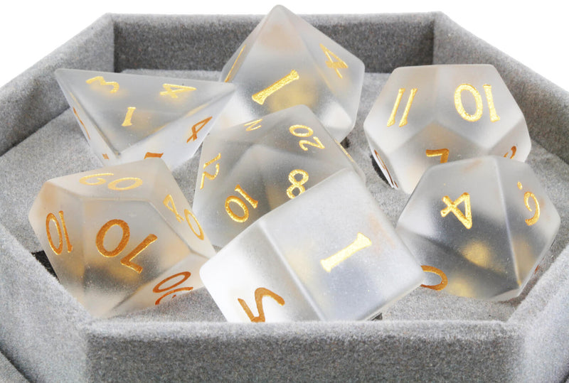 Frosted Glass Dice