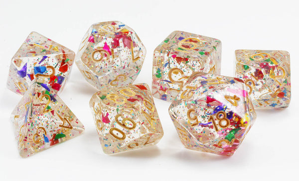 Confetti Dice Celebration