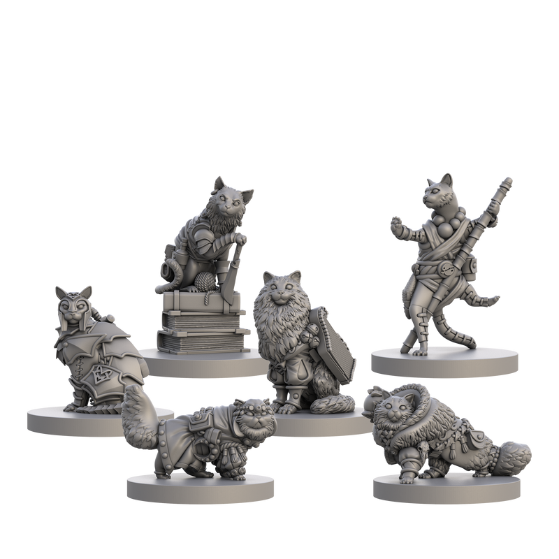 Cats And Catacombs RPG Miniatures 2
