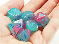 Chessex Lab Dice III Gel Pink 2