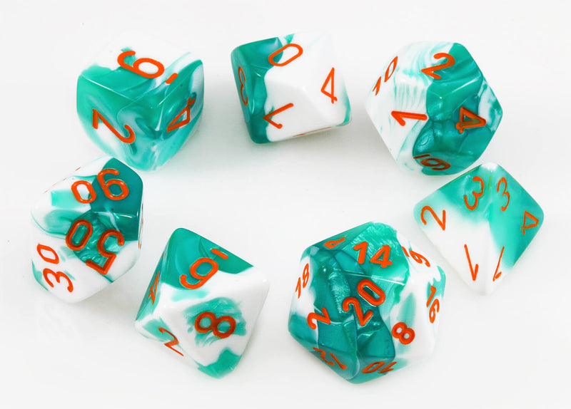 Chessex Lab Dice III Mint Green