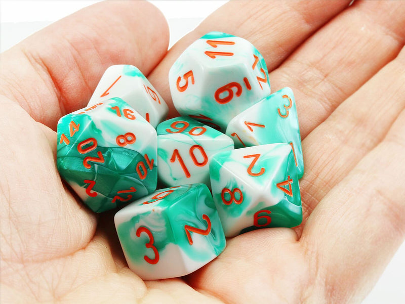 Chessex Lab Dice III Mint Green 2