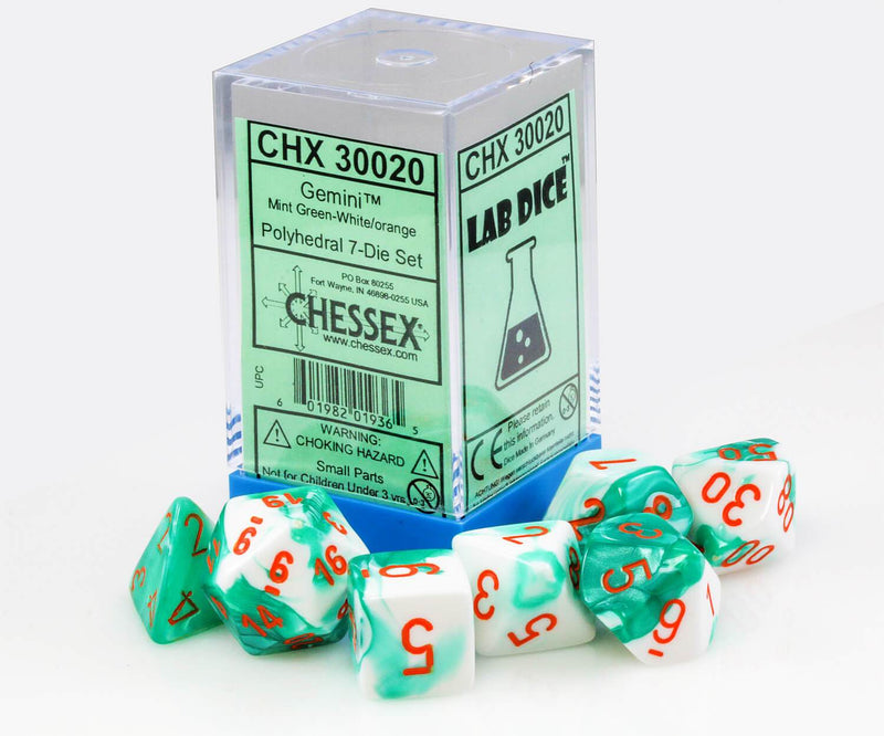 Chessex Lab Dice III Mint Box
